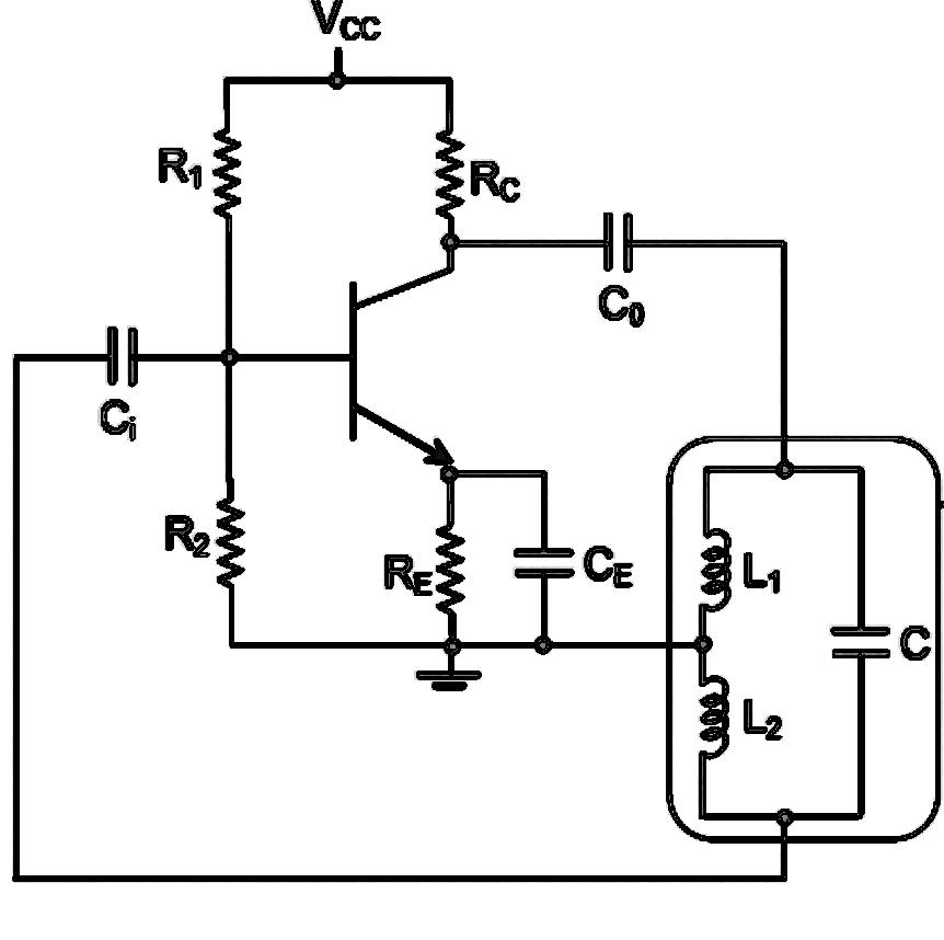 hartley oscillator study electronics