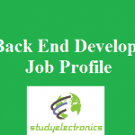 Back End Developer Job Profile