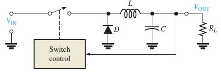Step-Down Configuration of switching regulator