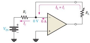 Constant Current Source using op amp