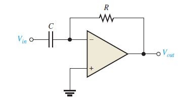 op-amp differentiator